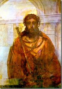 Obraz Ecce Homo autorstwa św. Brata Alberta Chmielowskiego