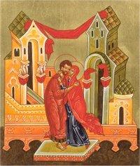 Giotto: Spotkanie przy Złotej Bramie