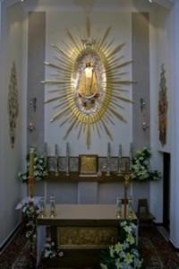 Wnętrze kościoła w polskim Loretto