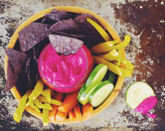 beet hummus - great for summer!