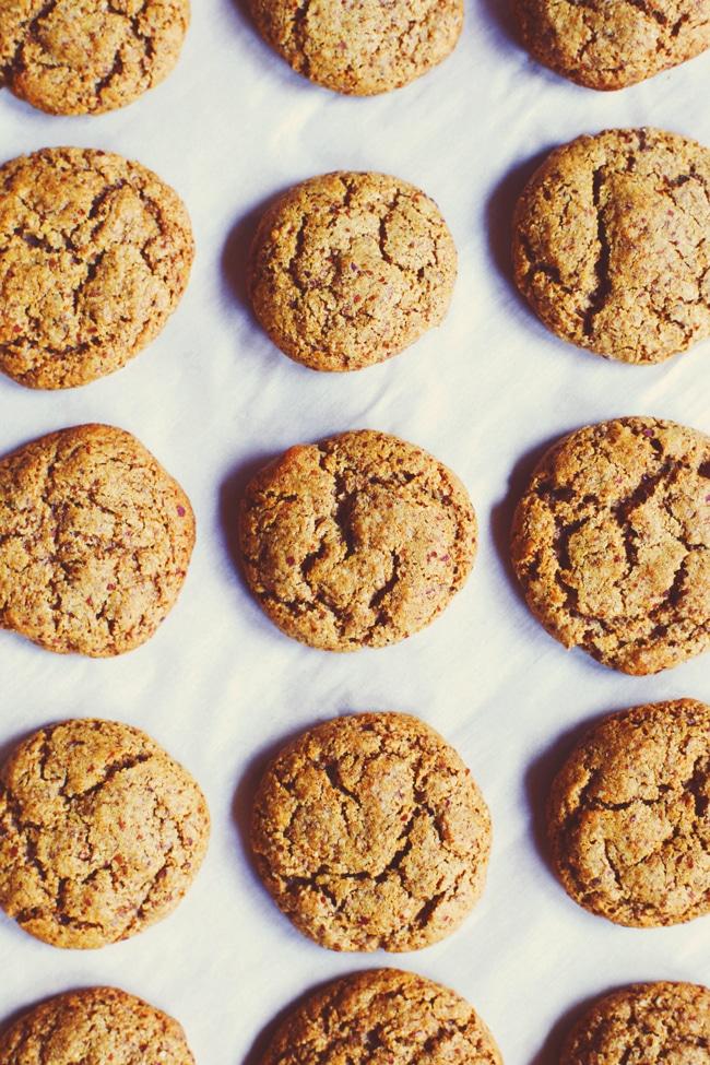 Coconut Sugar Molasses Cookies