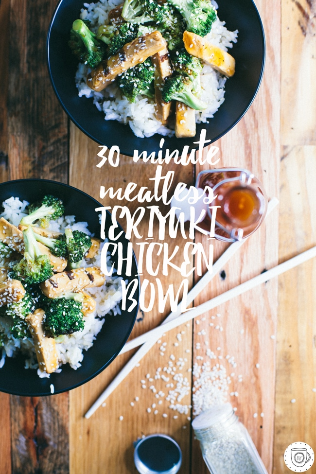 the easiest and healthiest way to eat teriyaki chicken!