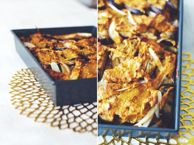 Eggplant & Butternut Squash Pasta Bake
