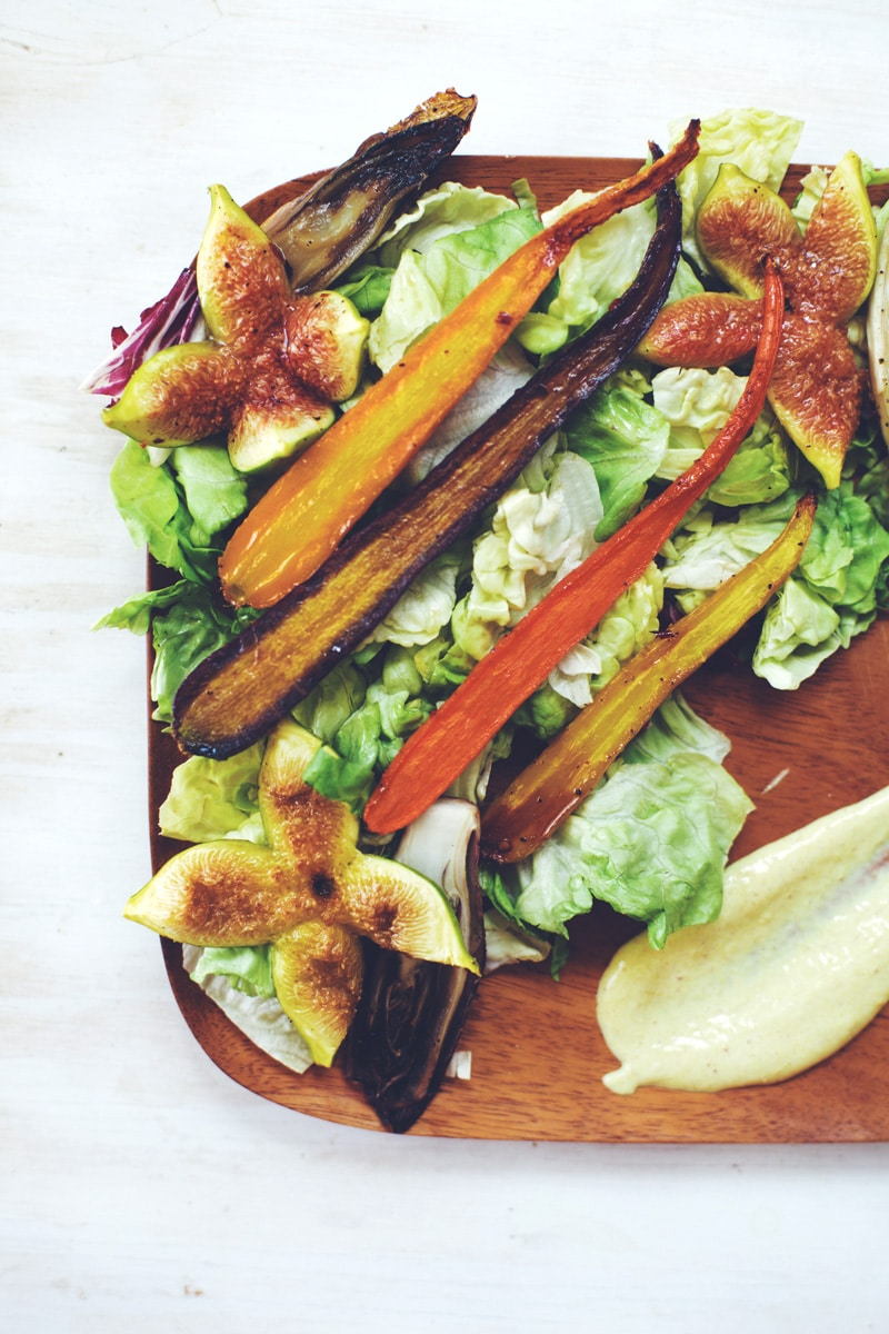 Honey Roasted Summer Salad