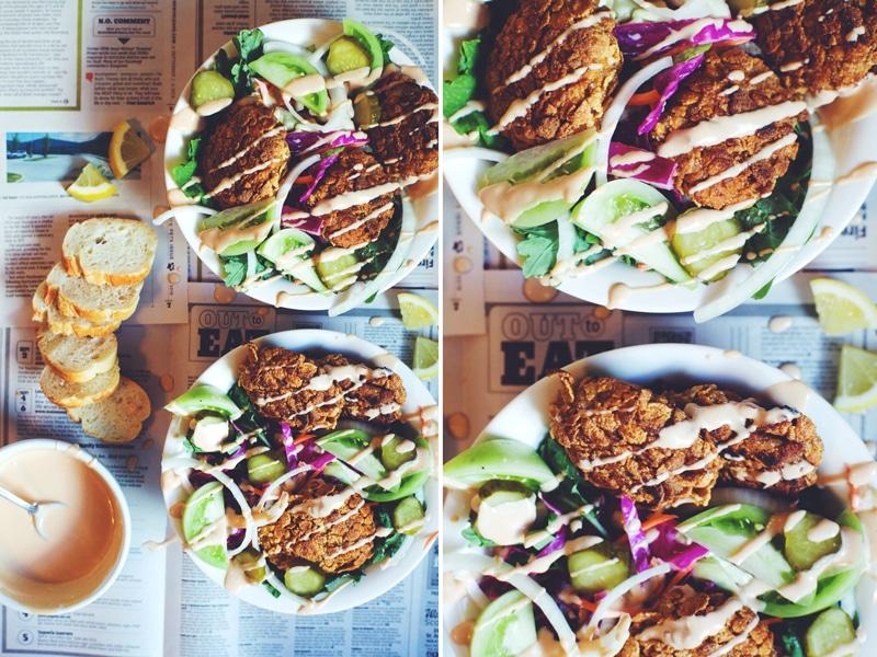 Health-ified Po' Boy Salad