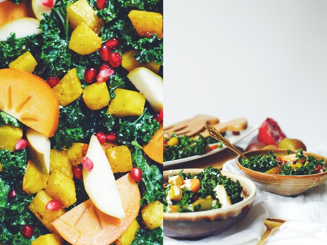 seasonal holiday salad
