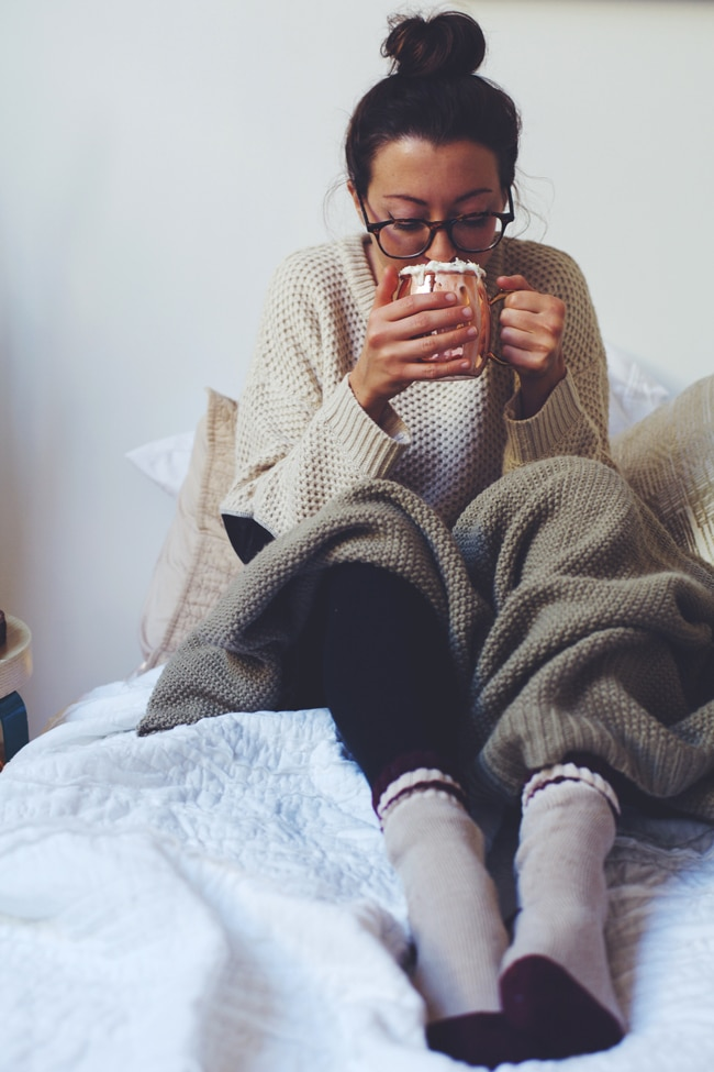 cozy winter drink