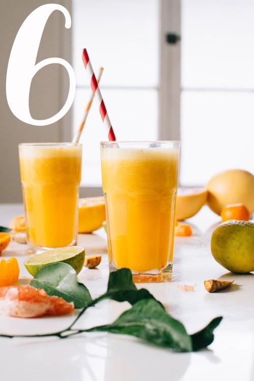 Kale & Caramel Citrus Turmeric Rever Upper Juice
