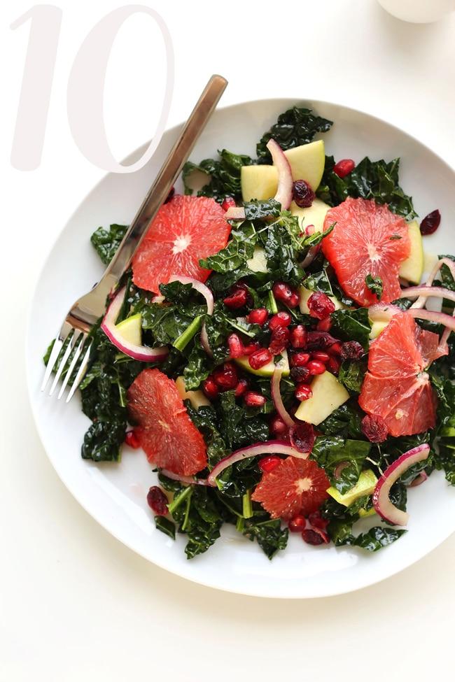 Minimalist Baker Kale Citrus Salad