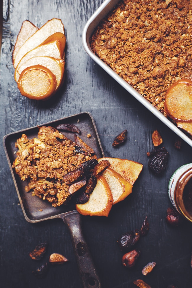 Fig Oatmeal Breakfast Bake