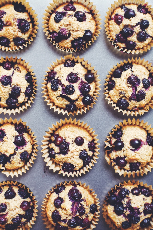 these delicious and hardy muffins that make an amazingly healthy breakfast