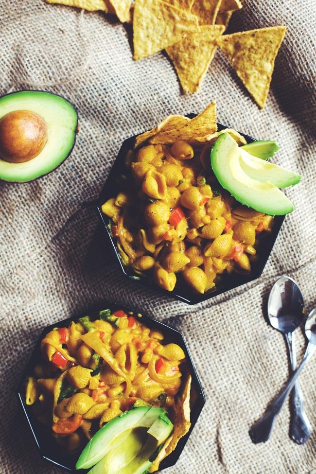 #dairyfree Mexican Mac 'n Cheese