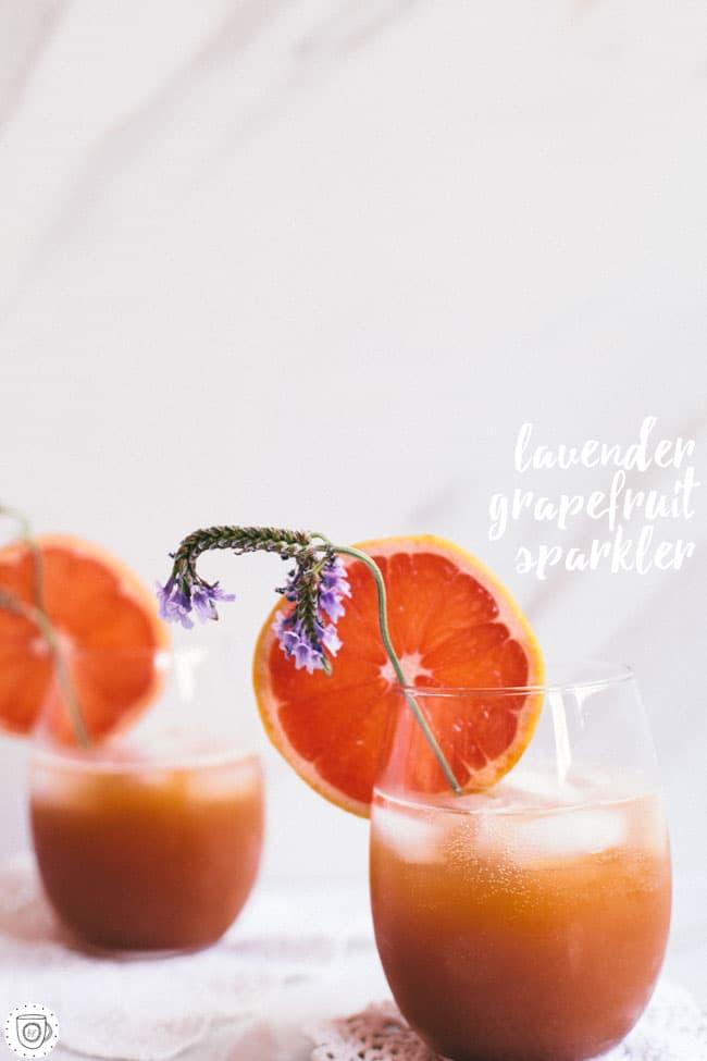 refreshing spring cocktail