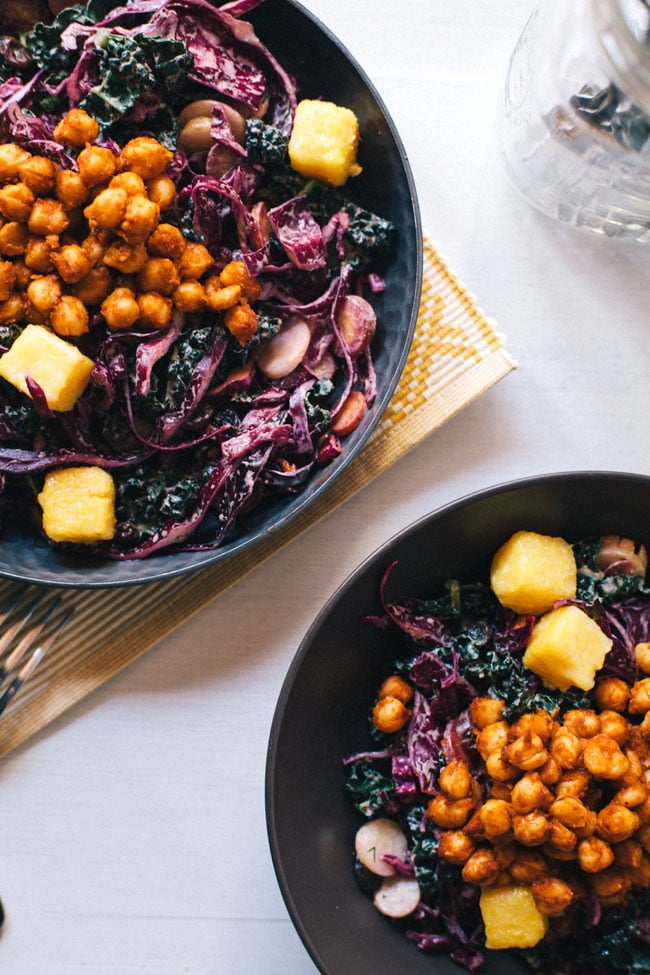 southern salad health-ified!