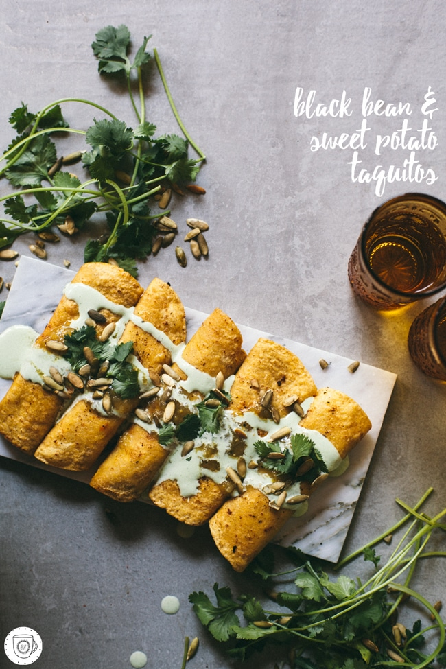 sweet and spicy taquitos