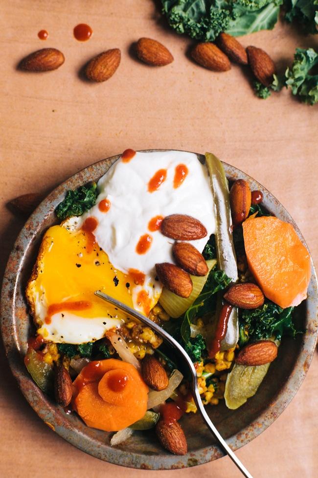 nourishing buckwheat bowl