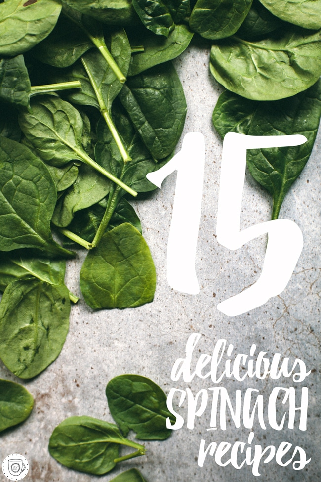 15 delicious spinach based recipes