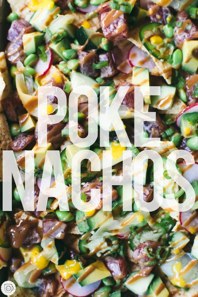 who needs a poke bowl when you can have POKE NACHOS?!?