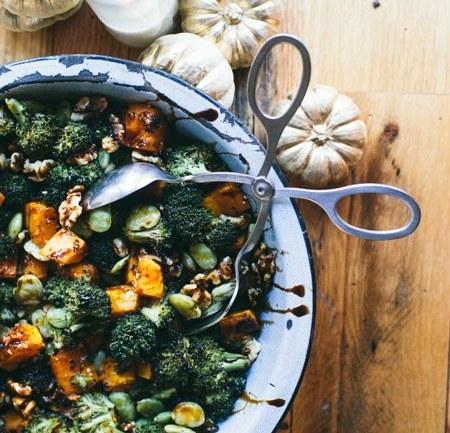 Balsamic Broccoli Thanksgiving Salad | Thanksgiving Thursday