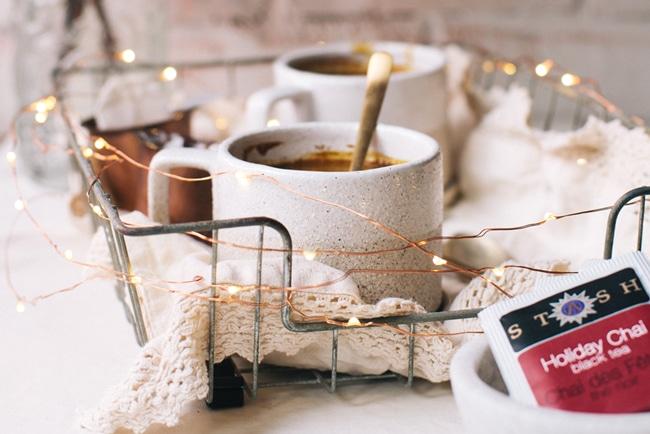 Golden Chai Hot Chocolate