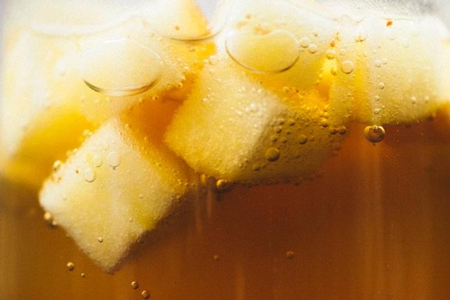 Sweet Apple Cider Champagne Sparkler