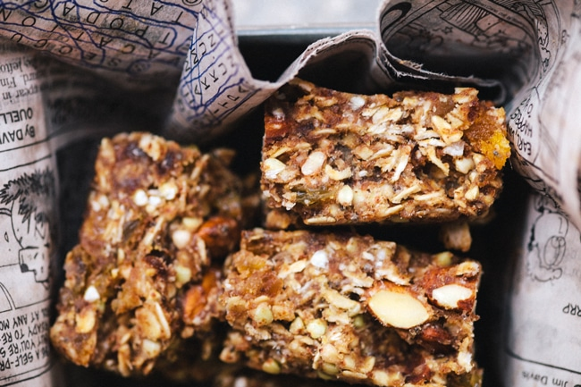 Apricot Almond Buckwheat Energy Bars