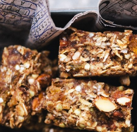 Apricot Almond Buckwheat Energy Bars | Brewing Happiness