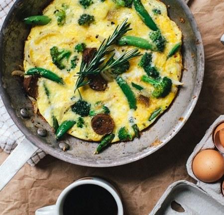 Italian Breakfast Omelette | Brewing Happiness
