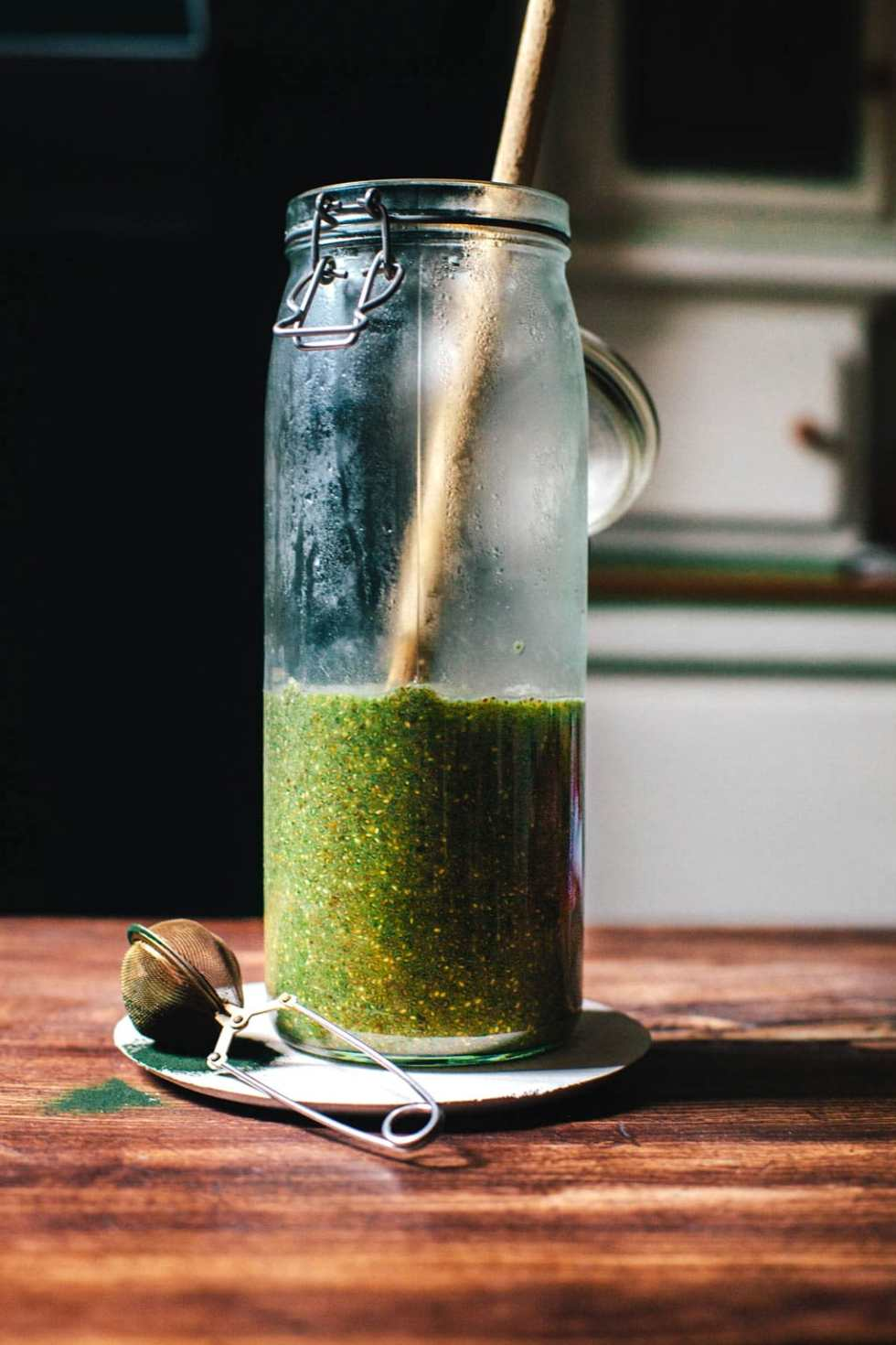 Green Tea Chia Pudding | Brewing Happiness
