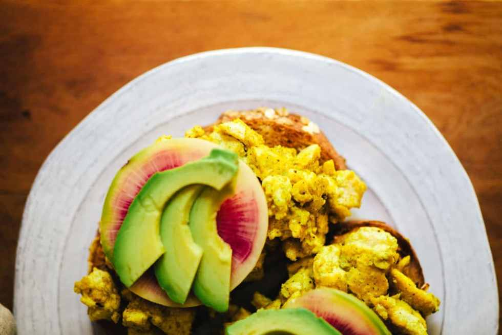 The BEST Tofu Scramble | Brewing Happiness