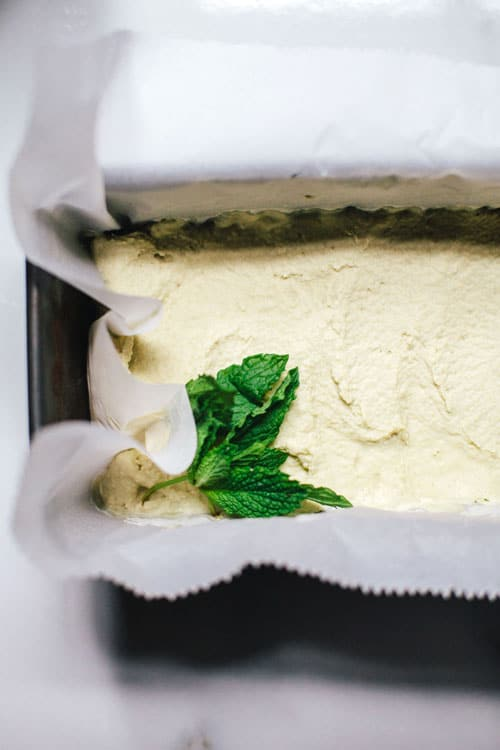 Coconut Melon Mint Ice Cream | Brewing Happiness