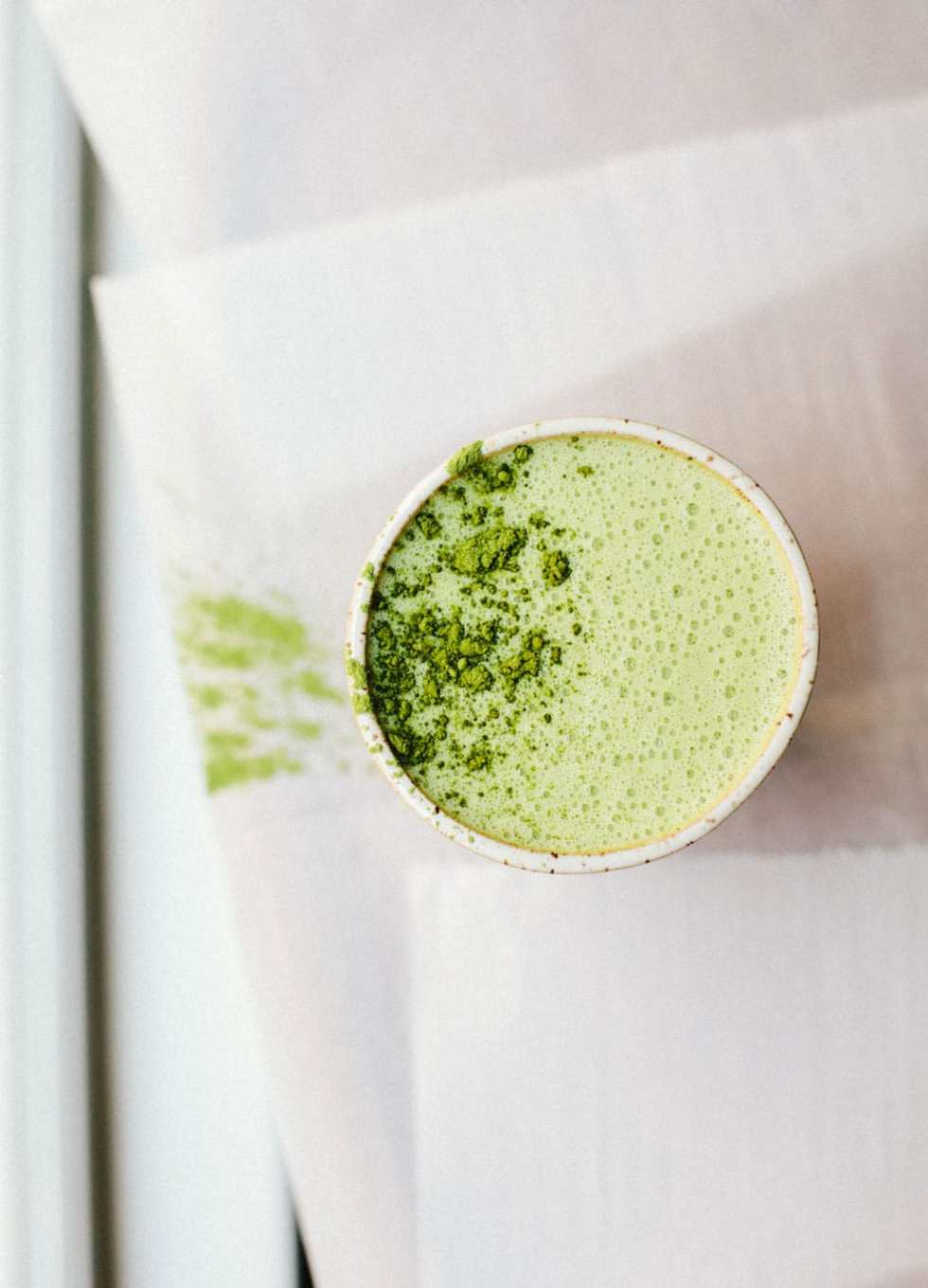 Macadamia Matcha Latte | Brewing Happiness