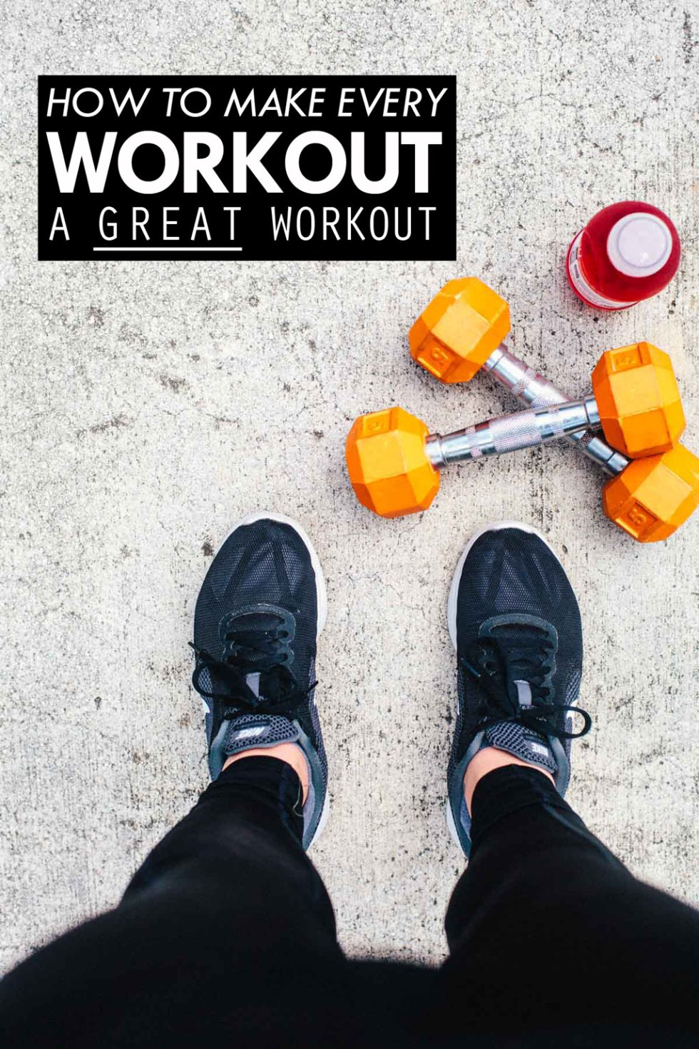 """The """"secret recipe"""" for making every workout a GREAT workout."""