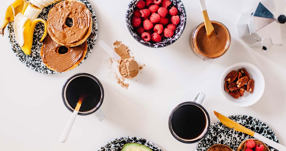 Chocolate Pecan Protein Spread | Brewing Happiness