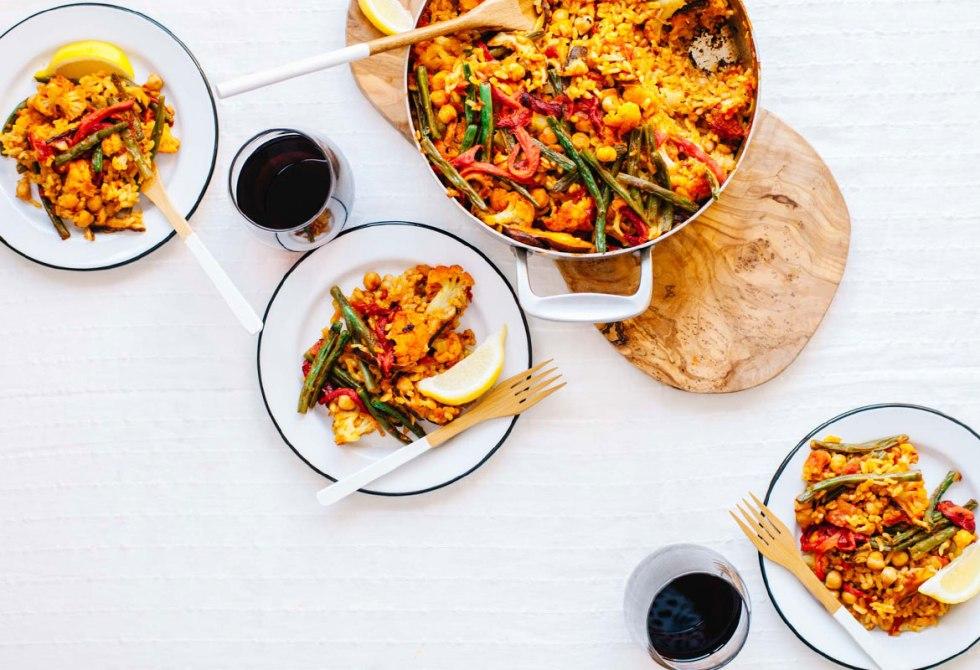 Supreme Veggie Paella