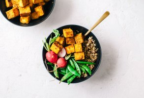 Intuitive Eating : Never-Fail Crispy Tofu | Brewing Happiness