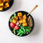 Intuitive Eating : Never-Fail Crispy Tofu   Brewing Happiness