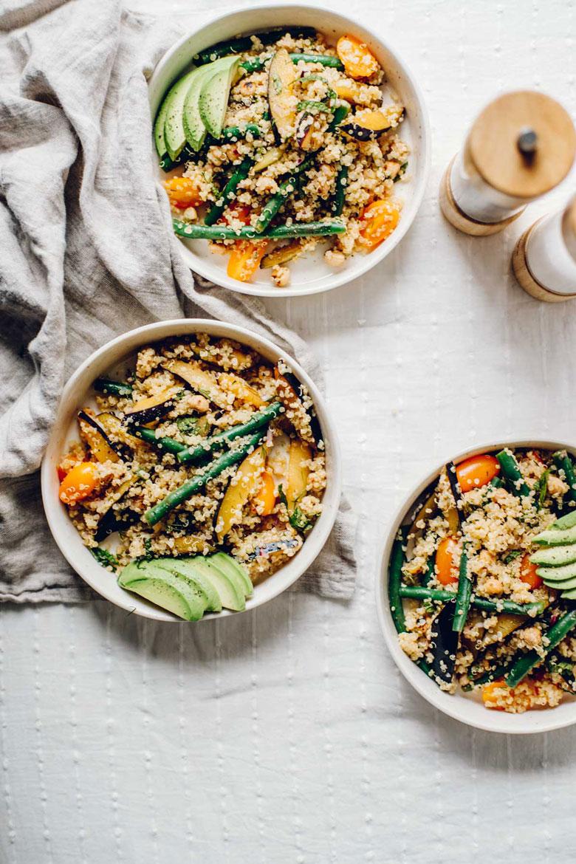 Intuitive Cooking : Farmer's Market Quinoa Salad | Brewing Happiness