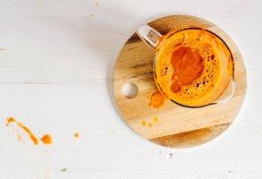 Fall Harvest Pumpkin-Carrot Blender Juice