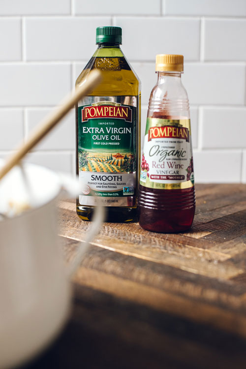 Pompeian Smooth Olive Oil and Organic Red Wine Vinegar