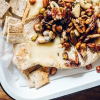 Savory Herbed Holiday Baked Brie