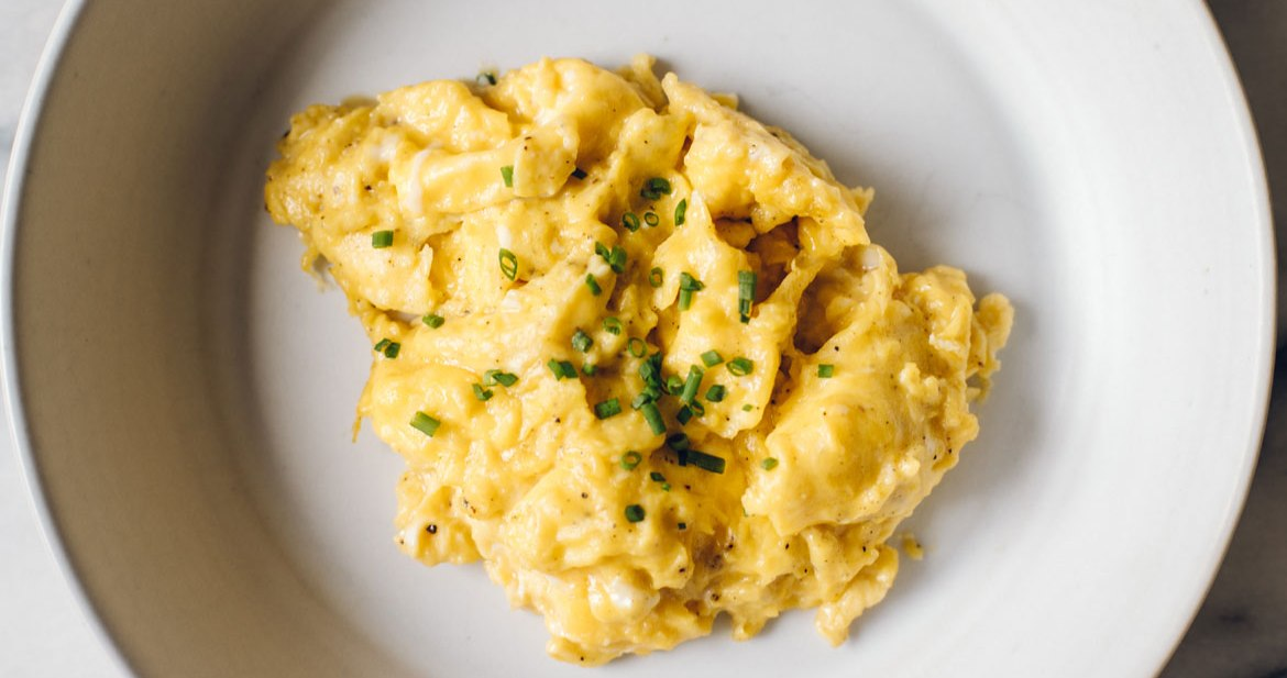 Intuitive Cooking : The Perfect Soft Scrambled Eggs | Brewing Happiness