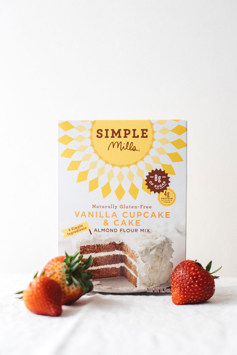Simple Mills Vanilla Cupcake and Cake Mix