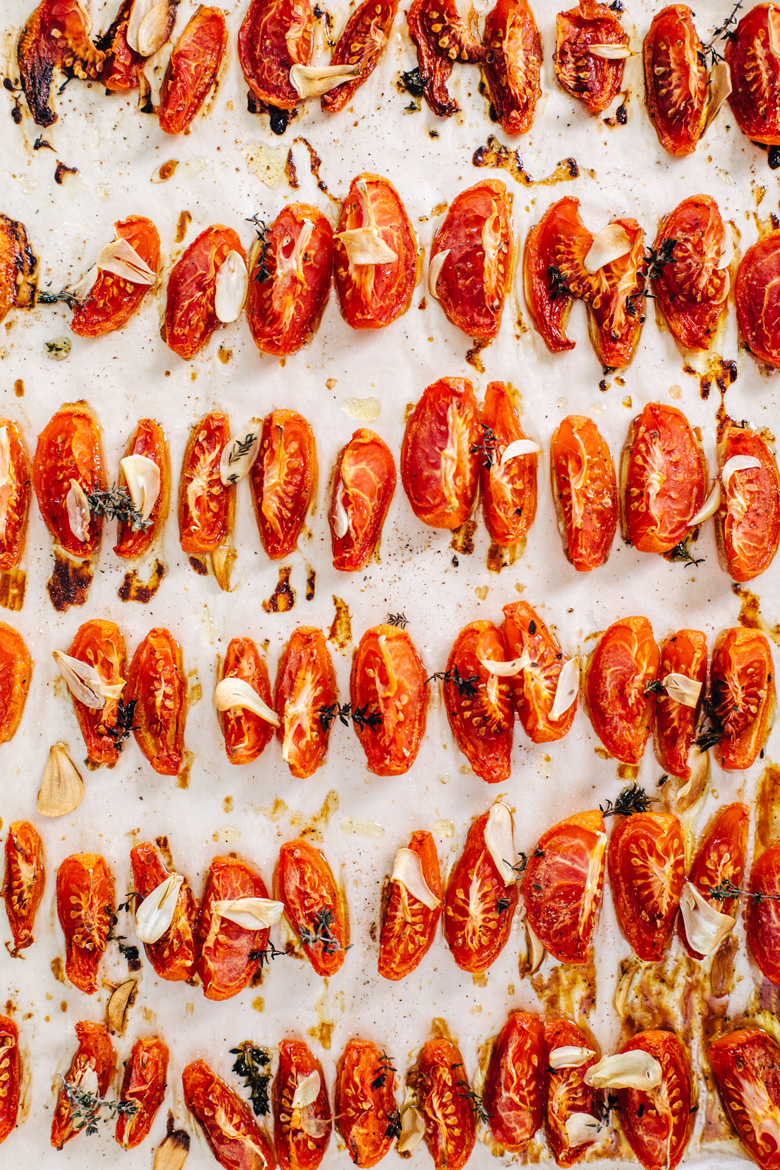 Ryan's Really Good Roasted Tomatoes | Brewing Happiness