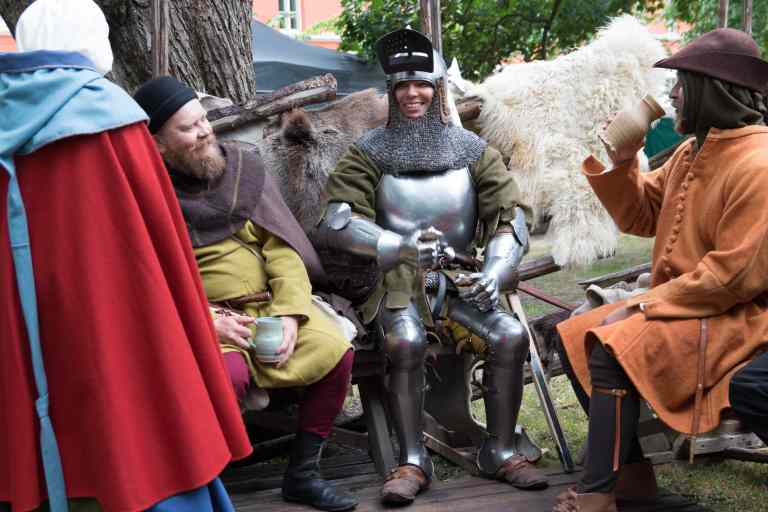 Knight at Turku Medieval Market