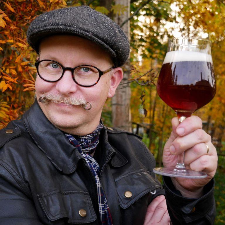 Juniper beer for autumn season