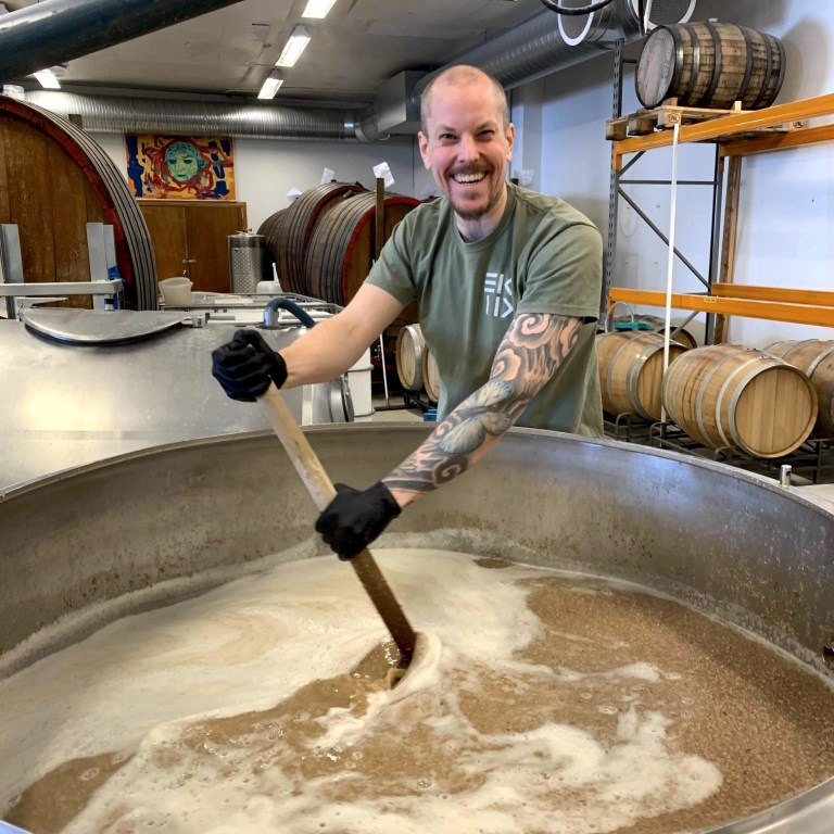 Eik & Tid brewery in Norway is build for brewing tart oak-aged raw ale