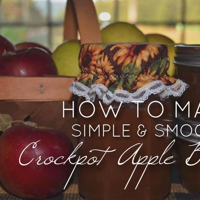 Learn how to make Simple amp Smooth Apple Butter onhellip