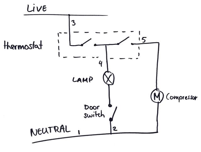 Amazing fridge thermostat wiring diagram gallery images for on wiring diagram for vt9 thermostat Two Wire Thermostat Wiring Diagram 2 Stage Thermostat Wiring Diagram