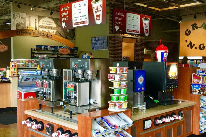 c-store coffee service